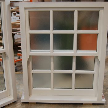 Box Sash Windows Manufactured and primed in Workshop