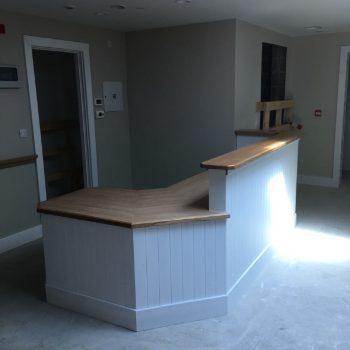 Bespoke Reception desk