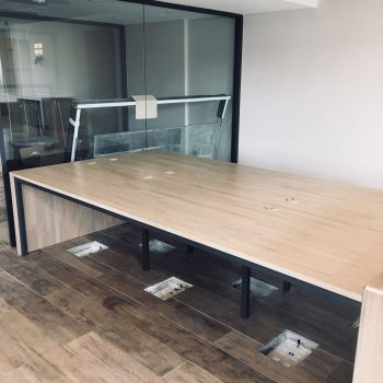 Large Multi-person bespoke desk