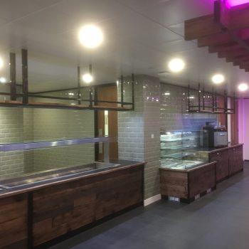 Installation of Bespoke Servery