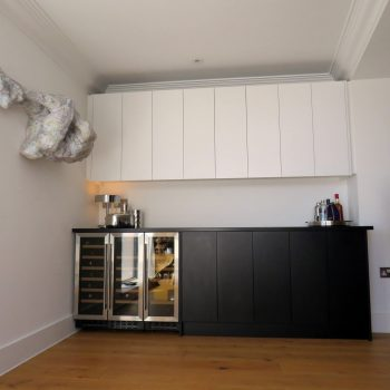 Bespoke Bar for the home, Push to open doors