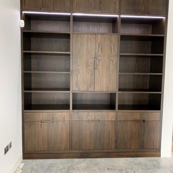 Bespoke Oak Display Cabinet