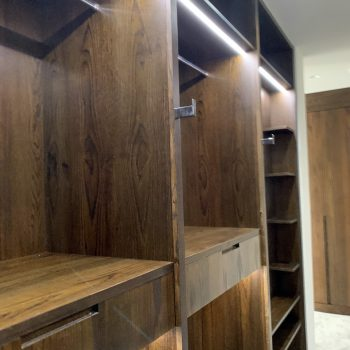 Bespoke Walk in Wardrobe, Drawers with Blumotion Movento Drawer runners