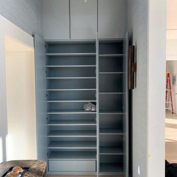 Bespoke Hand made shoe cabinet