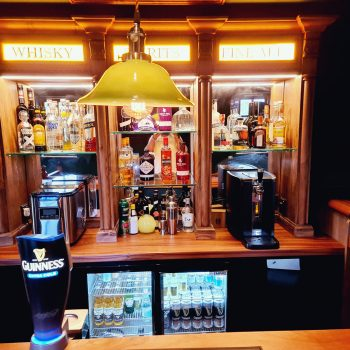 Bespoke Country and western Western Bar, LED lighting Guinness ready to poor