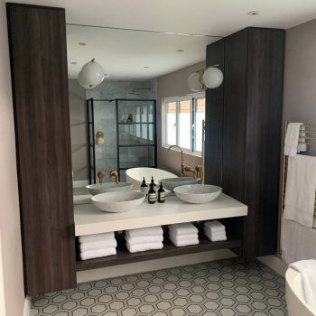 Egger MFC bathroom storage cabinets