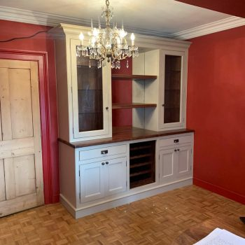 Bespoke wine and display cabinet